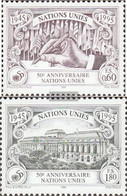 UN - Geneva 269A-270A (complete Issue) Unmounted Mint / Never Hinged 1995 50 Years UN - Geneva - United Nations Office
