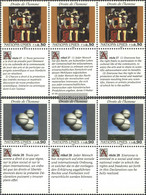 UN - Geneva 233-234 Sechserblocks (complete Issue) Unmounted Mint / Never Hinged 1993 Human Rights - Geneva - United Nations Office