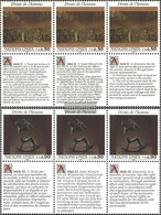 UN - Geneva 223-224 Sechserblocks (complete Issue) Unmounted Mint / Never Hinged 1992 Human Rights - Geneva - United Nations Office