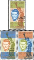 Sharjah / Khor Fakkan 22A-24A (complete Issue) Fine Used / Cancelled 1965 Death John F. Kennedy - Sharjah