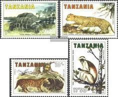 Tanzania 258-261 (complete Issue) Unmounted Mint / Never Hinged 1985 Animals Of Zanzibar - Tanzania (1964-...)