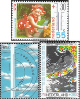 Netherlands 1379A-1381A (complete Issue) Unmounted Mint / Never Hinged 1990 That Weather - Period 1980-... (Beatrix)