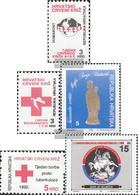 Croatia Z21,Z22,Z23,Z24,Z25 (complete Issue) Unmounted Mint / Never Hinged 1992 Zwangzuschlagsmarken - Croatia
