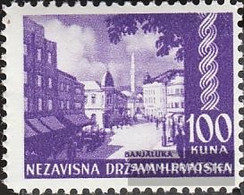 Croatia 65 Unmounted Mint / Never Hinged 1941 Landscapes - Croatia