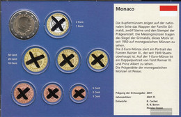 Monaco MON 9 2014 Stgl./unzirkuliert Stgl./unzirkuliert 2014 Kursmünze 2 Euro - Monaco