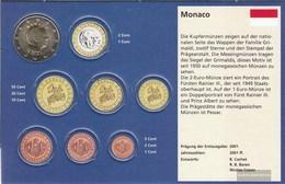 Monaco MON 9 2012 Stgl./unzirkuliert Stgl./unzirkuliert 2012 Kursmünze 2 Euro - Monaco