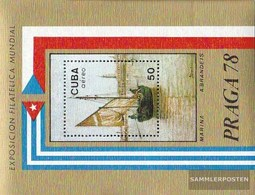 Cuba Block55 (complete Issue) Fine Used / Cancelled 1978 Stamp Exhibition - Blocks & Sheetlets