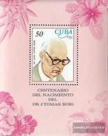 Cuba Block51 (complete Issue) Fine Used / Cancelled 1977 Juan T. Roig - Flowers - Blocks & Sheetlets