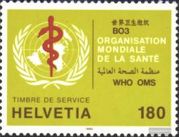 Switzerland WHO41 (complete Issue) Unmounted Mint / Never Hinged 1995 Health Organization - Switzerland