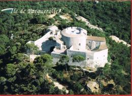 Ile De PORQUEROLLES - Le Fort Sainte-Agathe-  Cpsm Avec Timbre Non Oblitéré-- Scans Recto Verso- Paypal Sans Frais - Porquerolles