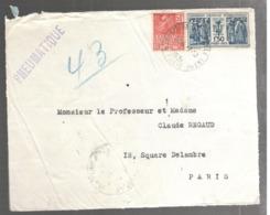 24249 - EXPOSITION COLONIALE - Marcophilie (Lettres)