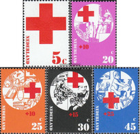 Netherlands 994-998 (complete Issue) Unmounted Mint / Never Hinged 1972 Red Cross - Period 1949-1980 (Juliana)
