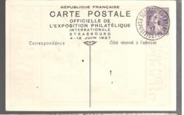 24255 - EXPOSITION STRASBOURG  27 - Storia Postale