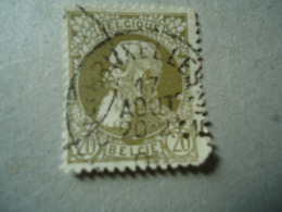 BELGIUM USED   PERFINS STAMPS - Lochung