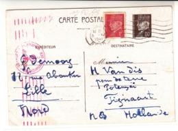 France / Patain Stationery / Holland / Germany Censorship - Francia