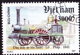 Vietnam - Lok Saint-L [1843] (MiNr: 2328) 1991 - Gest Used Obl - Vietnam