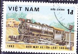 Vietnam - Lok Typ 140-601 (MiNr: 1293) 1983 - Gest Used Obl - Vietnam