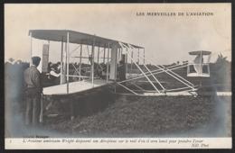 AVION De L Américain  Wright Animation  Photo  Branger   : Très Très Bon état  : YD209 - ....-1914: Précurseurs