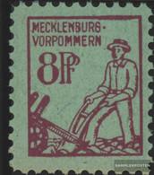 Soviet Zone (Allied.cast.) 13 Unmounted Mint / Never Hinged 1945 Mecklenburg 1.issue - Zone Soviétique