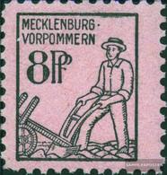 Soviet Zone (Allied.cast.) 12 Unmounted Mint / Never Hinged 1945 Mecklenburg 1.issue - Zone Soviétique