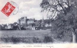 72 - Sarthe - MONTMIRAIL - Vue Generale - Montmirail