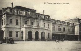 TONKIN Hanoi La Gare  RV - Viêt-Nam