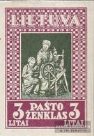 Lithuania 371B Unmounted Mint / Never Hinged 1933 Lietuvos Vaikas - Lithuania