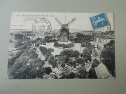 PARIS MONTMARTRE LE MOULIN DE LA GALETTE VUE GENERALE - Distrito: 18