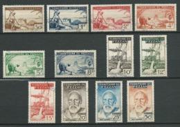 FEZZAN 1951 . Série N°s 56 à 67 . Oblitérés . - Oblitérés