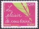 Autoadhésif(s) De France N°  207 ** Au Modèle 4181 - Europa / CEPT 2008 - Le Plaisir De Vous écrire. Timbre Entreprise - France