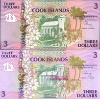 Cookinseln Pick-number: 7a Uncirculated 1992 3 Dollars - Cook Islands