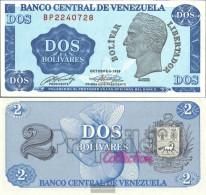 Venezuela Pick-number: 69 Uncirculated 1989 2 Venezuelan Bolivar - Venezuela