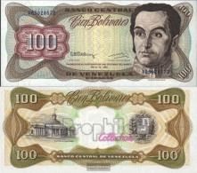 Venezuela Pick-number: 66d Uncirculated 1992 100 Bolivares - Venezuela
