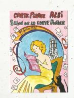 Cp, Bourses & Salons De Collections, 81, Albi , Salon De La Carte Postale,1986,illustrateur R. Faraboz,tirage 1500 Ex. - Borse E Saloni Del Collezionismo