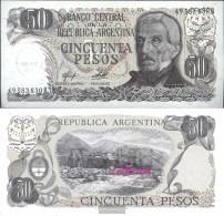 Argentina Pick-number: 301b Uncirculated 1976 50 Pesos - Argentina