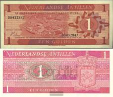Dutch Antilles Pick-number: 20a Uncirculated 1970 1 Gulden - Netherlands Antilles (...-1986)