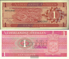 Dutch Antilles Pick-number: 20a Uncirculated 1970 1 Gulden - Nederlandse Antillen (...-1986)