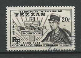 FEZZAN 1949 . N° 51 . Oblitéré . - Oblitérés