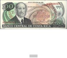 Costa Rica Pick-number: 261a Uncirculated 1993 100 Colones - Costa Rica