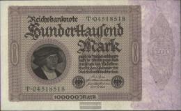German Empire Rosenbg: 82a, Empire Printing Uncirculated 1923 100.000 Mark - [ 3] 1918-1933 : Weimar Republic
