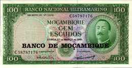 MOZAMBIQUE 100 ESCUDOS Du 22-3-1961/76nd  Pick 117  UNC/NEUF - Mozambique