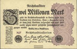 German Empire Pick-number: 103d WZ. Grid With 8 Uncirculated 1923 2 Million Mark - [ 3] 1918-1933 : República De Weimar