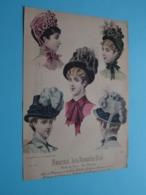 Mode De PARIS ( Journal Des DEMOISELLES  > 4 Exempl. ) Format +/- A4 ( Voir Photo Svp ) +/- 1885 ! - Estampes & Gravures
