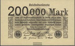German Empire Rosenbg: 99b, Without Firmenzeichen Used (III) 1923 200.000 Mark - [ 3] 1918-1933 : Weimar Republic