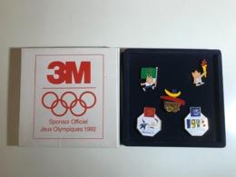 Coffret Pin's 3M (sponsor Officiel) Jeux Olympiques Barcelona 1992 - Pin's