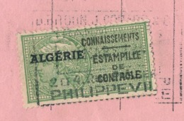 ALGERIE - Type Daussy Connaissements Sur Doc Entier - David Bitoun, Jules Corado & Cie 1949 - Algerien (1924-1962)