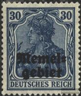 Memelgebiet 15 Unmounted Mint / Never Hinged 1920 Germania-Print - Memel (Klaïpeda)