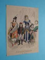 Mode De PARIS ( Journal Des DEMOISELLES > 5 Exempl. ) Format Plier ( Voir Photo Svp ) +/- 1860/70! - Estampes & Gravures