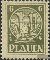 Plauen In Vogtland 2v Smooth Rubber Unmounted Mint / Never Hinged 1945 Ruin - Zone Soviétique