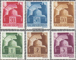 Hungary 736-741 (complete Issue) Unmounted Mint / Never Hinged 1943 Clear Brands - Hungary